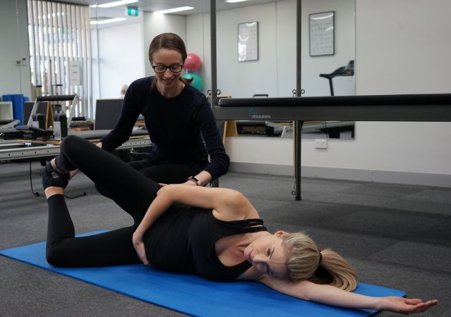 Pregnancy Clinical Pilates & exercise